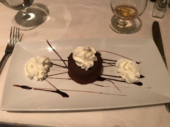 Wrentham, MA: Gluten Free Molten Chocolate cake