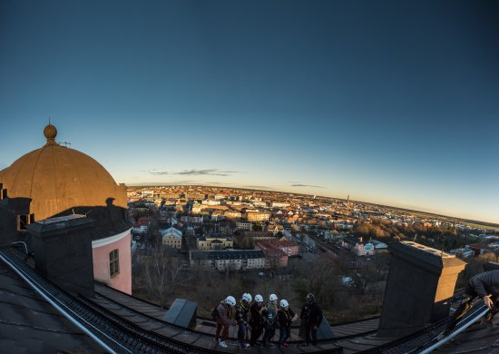 Stunning view over the city of Uppsala