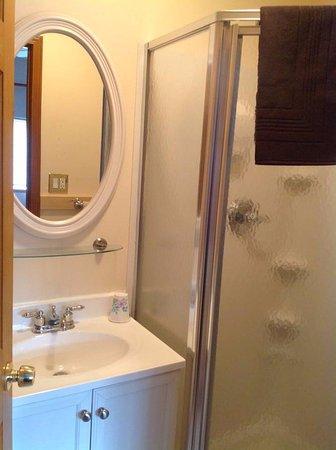 Tok, Аляска: Iceberry Room Bathroom