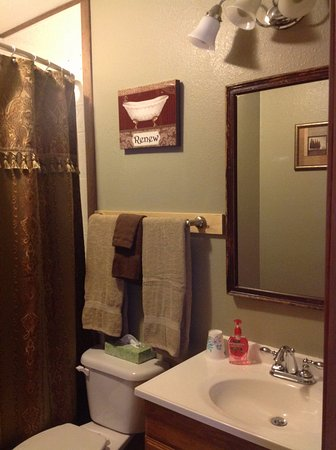 Tok, AK: Moonberry Room Bathroom