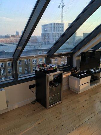Chelsea Bridge Apartments: リビングからの景色