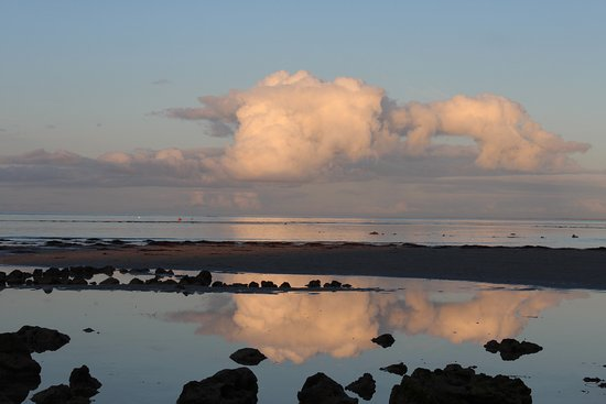 Whalers Cove Villas: Clouds on the horizon