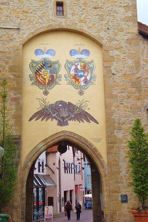 Marbach am Neckar, Germany: Erneuerte Wappen