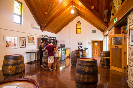 McLaren Vale, Australia: The Tasting Room
