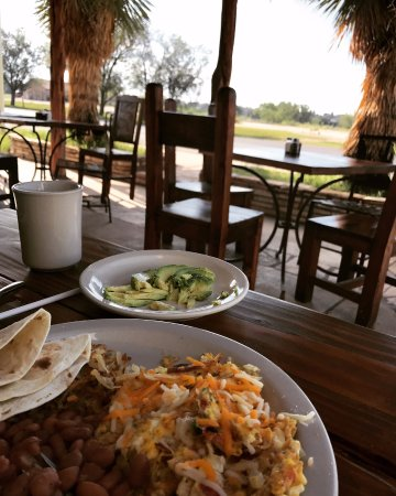 Marathon, TX: Breakfast