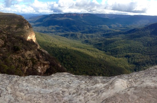 Wentworth Falls, Australia: Some of the natural beauty of the Blue Mountains