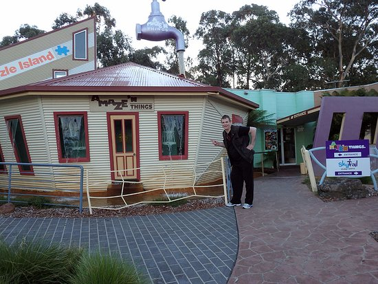 Cowes, Austrália: Yep, it was A Maze n - tell your friends. ;)