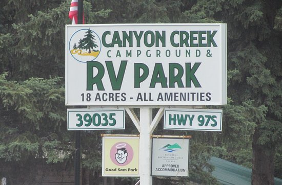 Hixon, Kanada: Canyon Creek Campground and RV Park