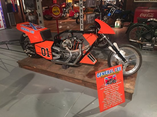 Miami, OK: Old drag bike