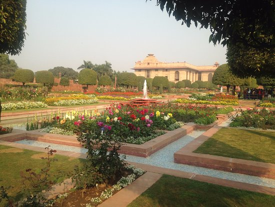 Awesome place picture of mughal garden new delhi Mughal garden booking