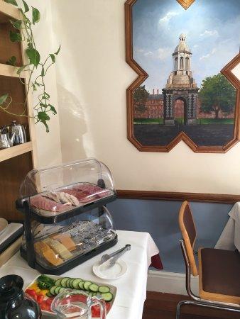 Leeson Bridge Guesthouse: Breakfast