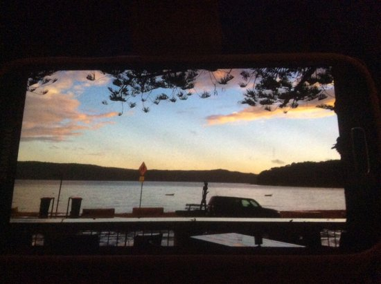 Patonga, Australië: View from bar