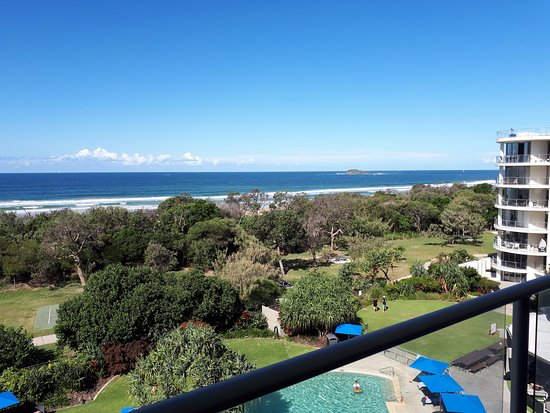 Marcoola, Australia: Ocean view from 5th floor hotel room