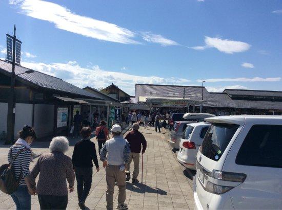 Tomi, Japan: この日は、ワハハ本舗の方がお尻でクルミを割ったとか・・・