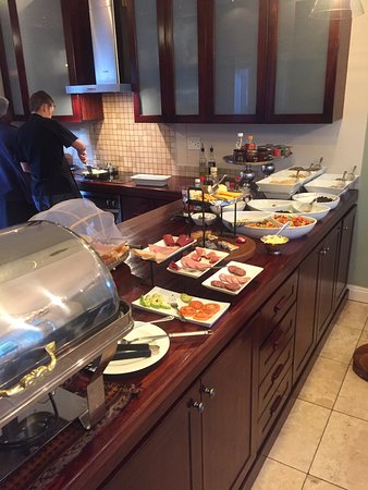 Belvedere Boutique Hotel : Breakfast Spread