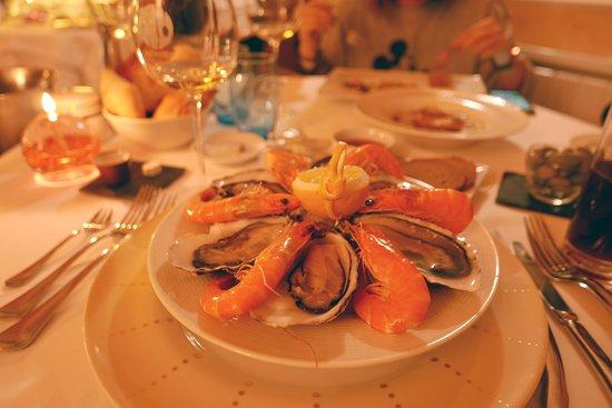 Restaurant La Marquiere: menu