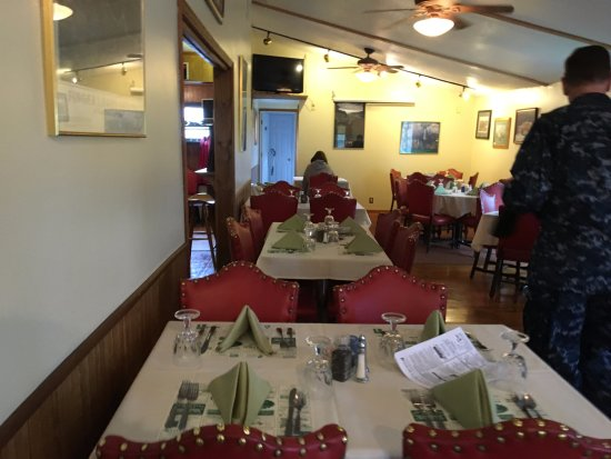 Ovid, Estado de Nueva York: Golden Buck - dining room