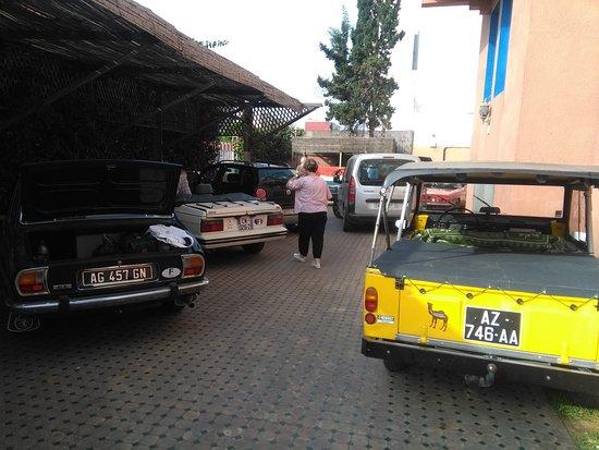 El Morabitine Hotel : parking