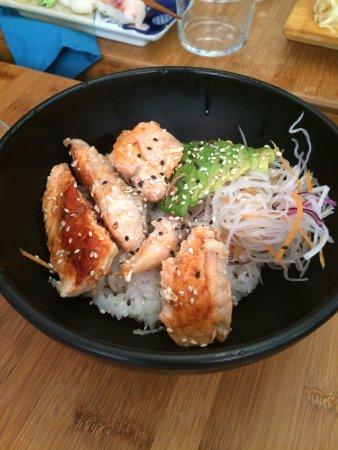 Chirashi saumon grill picture of restaurant rice fish paris tripadvisor - Restaurant poisson grille paris ...