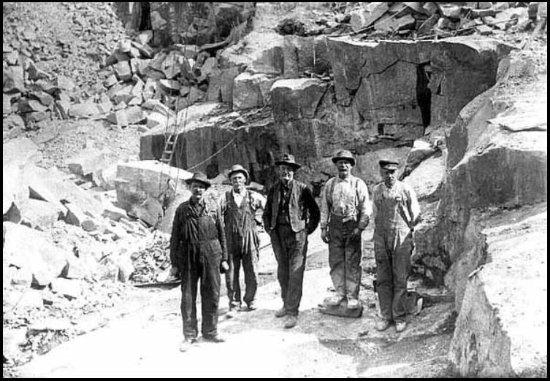 Stonington, ME: 1900 quarry workers