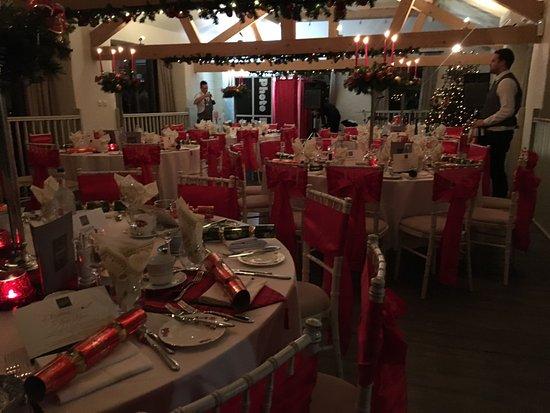 Denbigh, UK: Xmas party night hall