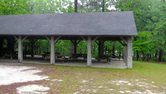 Little Pee Dee State Park: Picnic shelter