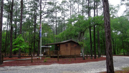 Little Pee Dee State Park: Park office