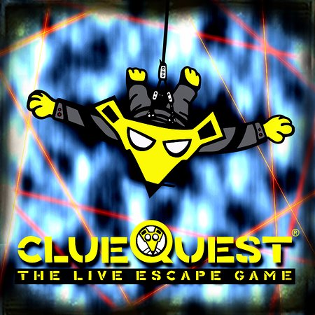clueQuest - The Live Escape Game: clueQuest is a 60 Minute challenge for the puzzle-loving, mystery-solving superspy in you.