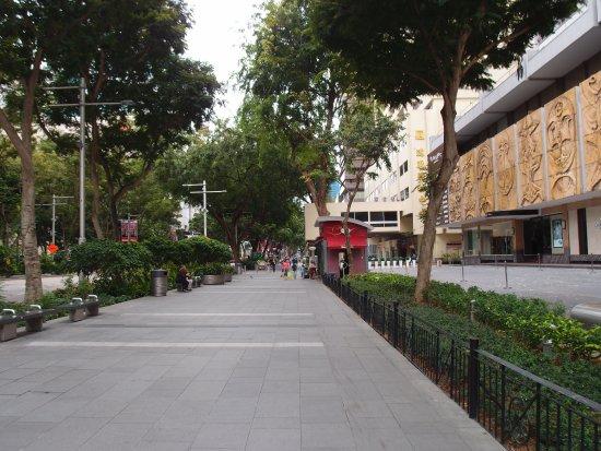 Hilton Singapore: 酒店周圍