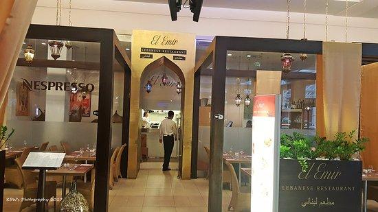 Prag Design El | El Emir Restaurant Prague Picture Of El Emir Palladium Prague