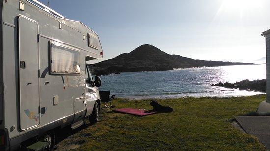 Caherdaniel, Ireland: Glenbeg Caravan & Camping Park