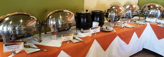 Cabana El Rey: Lunch buffet