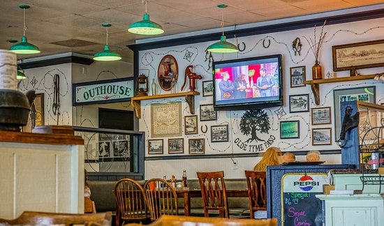 Inside the Cowgirl Cafe.