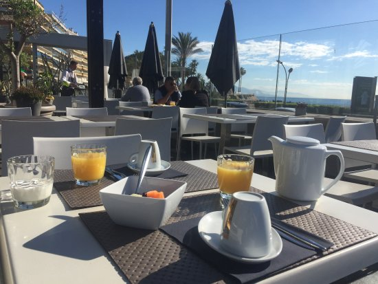 Royal Antibes Hotel, Residence, Beach & Spa: Breakfast