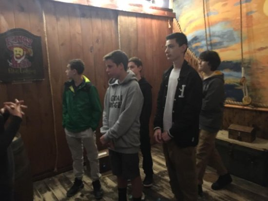 Five Teens Listening To Rules Before Attempting The Pirate