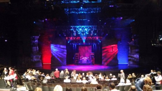 Stage Of School Of Rock Picture Of New London Theatre London