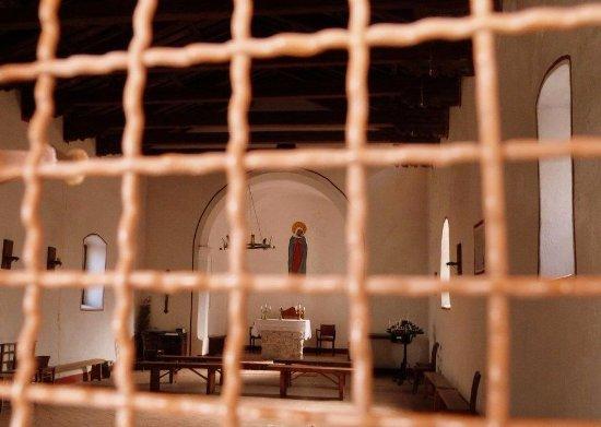 San Dorligo della Valle-Dolina, Italy: S.Maria in Siaris: i semplici interni