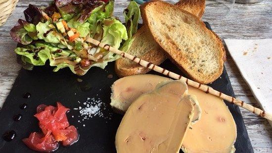 Mirepoix, Frankrike: foie gras mi-cui vraiment maison !!!