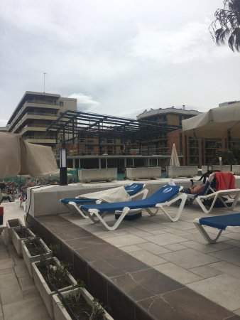 Sol Don Marco: The proximity of the building works to the main pools and sunned area as detailed in my review.