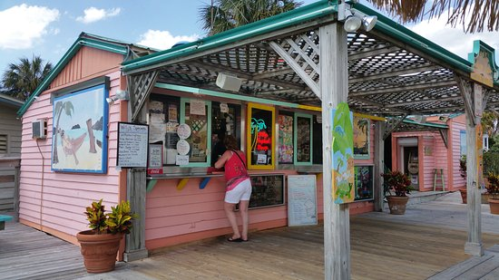 Hernando Beach, Φλόριντα: Willy's Tropical Breeze Cafe