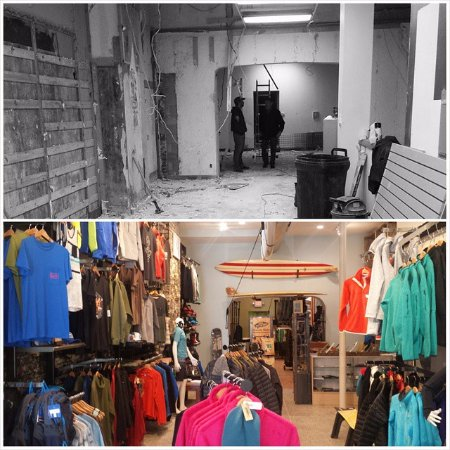 Sheboygan, WI: Shop Before and After
