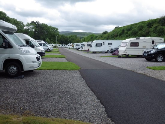 Kirkby Stephen, UK: Spacious gravel pitches
