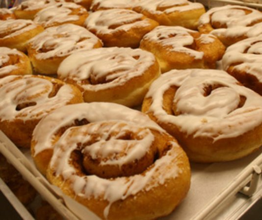Port Sanilac, MI: Honey Bun Donuts