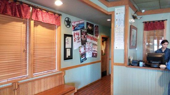 Ada, OK: Restaurant interior