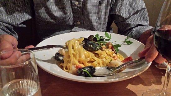 Seafood tagliatelle picture of casa mia ristorante - Mia la casa italiana ...