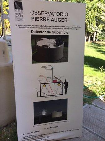 Pierre Auger Observatory: Afiche descriptivo