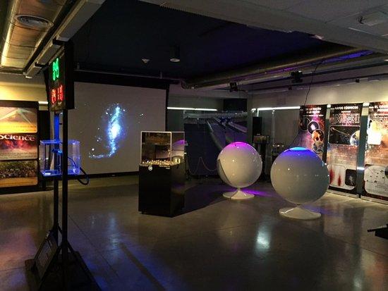 Pierre Auger Observatory: Sala principal