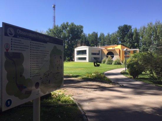 Pierre Auger Observatory: Entrando al predio