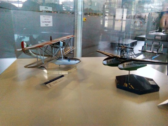 Volandia Parco e Museo del Volo Malpensa: Idrovolanti Caproni