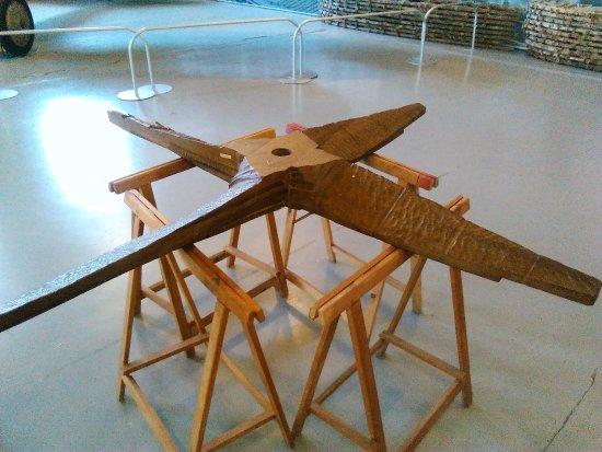 Volandia Parco e Museo del Volo Malpensa: Grezzo d'elica